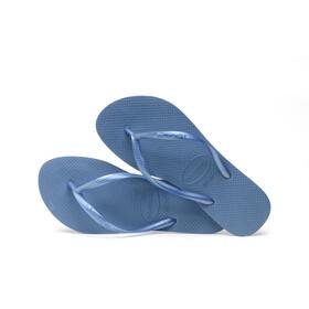 havaianas Slim Sandales Femme, blue
